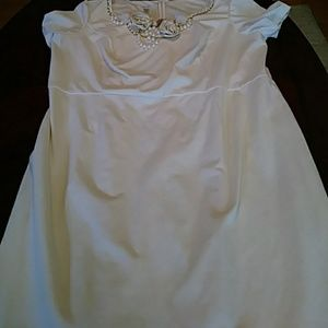 Ivory White Size 18 Mint Condition Dress